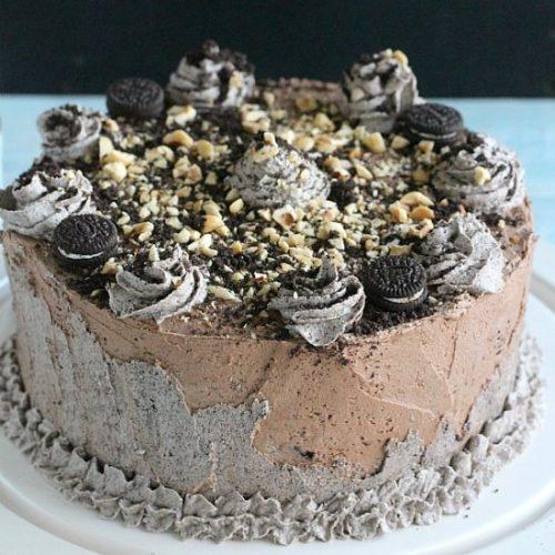 oreo cake Oreo Hazelnut