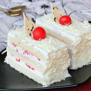 White Forest Pastries