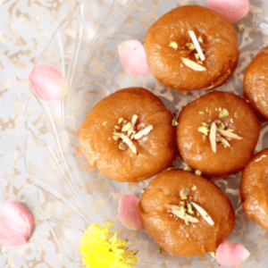 badhusha - Abi sweets and pastries